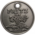 A custom wine charm produced for Fritz Underground Winery (http://www.fritzwinery.com)